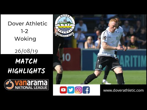 Highlights: Dover Athletic 1-2 Woking FC