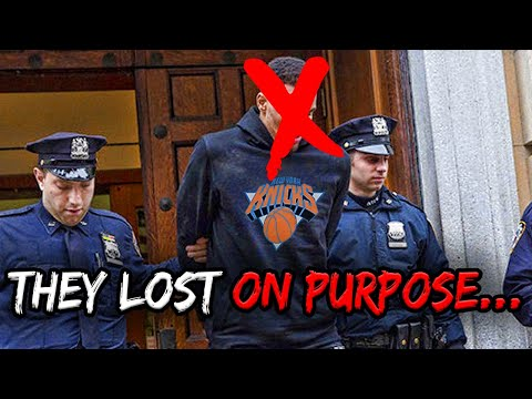 The NBA's DARKEST Conspiracy: PROOF The Knicks Lost Games on Purpose?