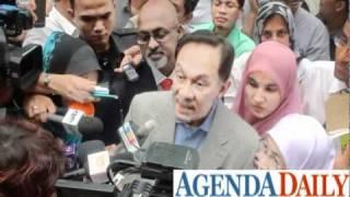 Anwar peminat Agendadaily serta pandangan beliau terhadap pihak polis