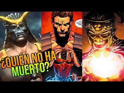 TODOS los personajes que están ACTUALMENTE MUERTOS - Mortal Kombat (2011), MK X & MK 11 thumbnail