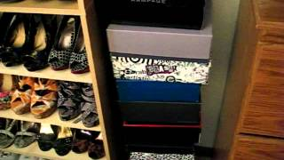 Shoe Organization-bookcases