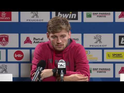 Interview David Goffin after his match against Frances Tiafoe
