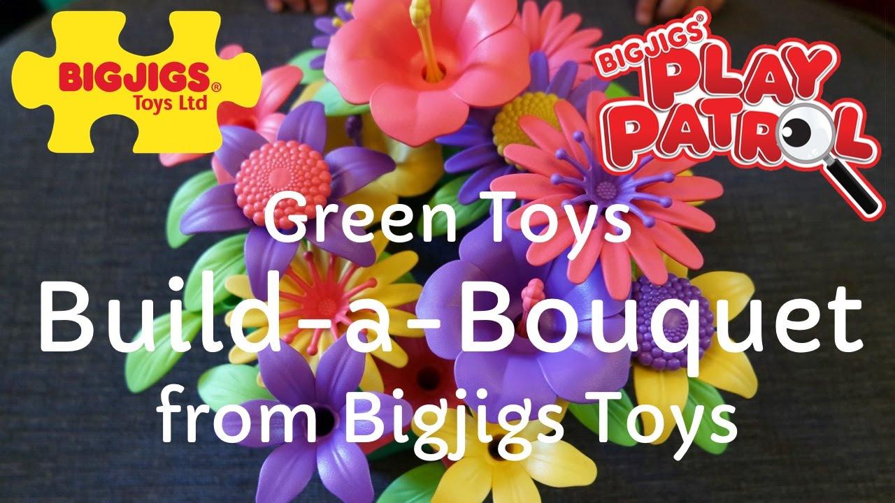 Green Toys Build A Bouquet Jigs Review Video Playpatrol