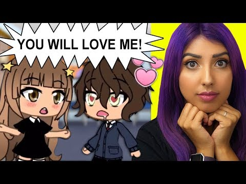 She Can Make ANYONE Love Her! ❤️ | Gacha Life Story Reaction