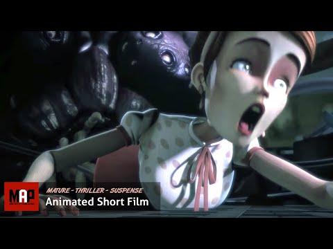 "CGI 3D Animated Short Film ""CATHARSIS""- Psychotic Thriller Animation by Supinfocom Rubika"