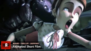 "CGI 3D Animated Short Film ""CATHARSIS""- Psychotic Thriller Animation by Supinfocom Rubika"