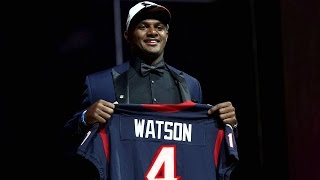 Houston Texans Draft Deshaun Watson ⎟ Round 1 Pick 12 ⎟2017 NFL Draft⎟