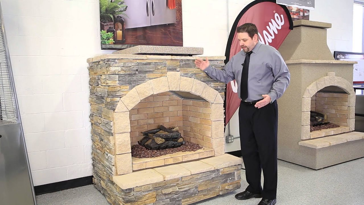 Cal Flame Bbq Fireplaces Firepits Youtube