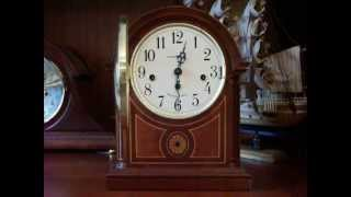 "Howard Miller ""Barrister"" 613-180 Westminster Chime Mantel Clock"