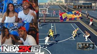 Girlfriend Vs Boyfriend Bean Boozled MyPark Challenge!! We both puked !! (Must Watch)  NBA 2K16