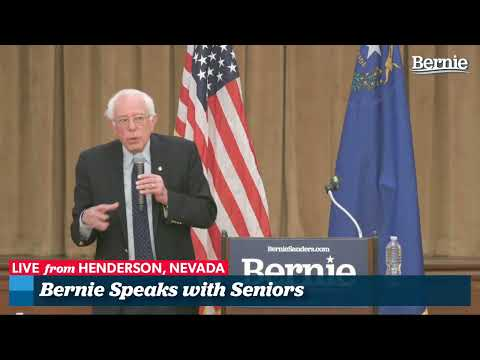 Seniors Town Hall with Bernie Sanders in Henderson, Nevada