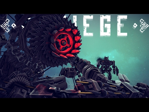 Besiege - Largest Creation Ever? - Giant Vehicle Loop & Besiege Contest! - Besiege Best Creations