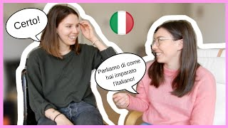 You will learn Italian if you find your motivation (a chat in Italian with American expat in Rome)