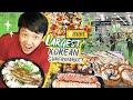Brunch at The LARGEST KOREAN SUPERMARKET! Emart FOOD REVIEW