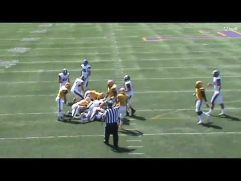 2018 St Edward High School LB Omar Fattah Junior Highlights