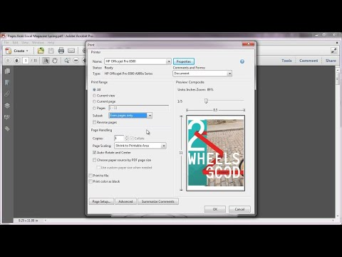 Printing In Acrobat X: Printing Double-sided Duplex | Adobe Document Cloud
