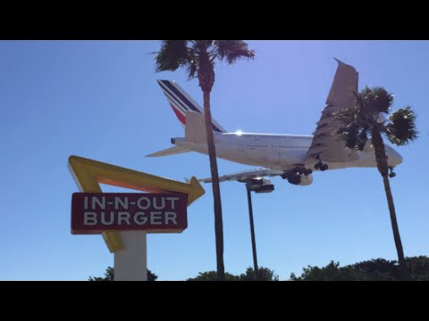Plane Spotting at Los Angeles International Airport (LAX)