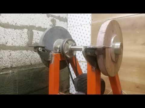 Изготавливаю точило с кругом 400мм в мастерскую