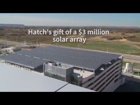 New Oakville Hospital: Rooftop solar array