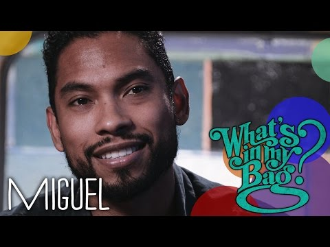 Miguel - What's In My Bag?