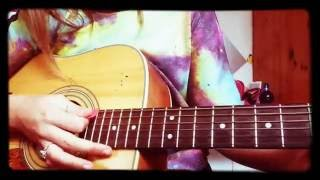 Mistletoe guitar tutorial