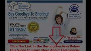 stop snore ring review | Say Goodbye To Snoring