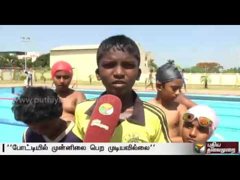 Sports Development Authority of Tamilnadu's swimming pool without a coach