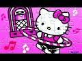 HELLO KITTY Games Ravensburger Jigsaw Puzzle Game Kids Learning Toys