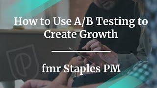 Hoe Gebruik A/B Testen om Groei te Creëren door fmr Nietjes PM