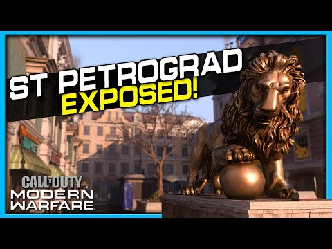St. Petrograd Lines of Sight, Jump Spots and Spawns | (Modern Warfare Maps Exposed)