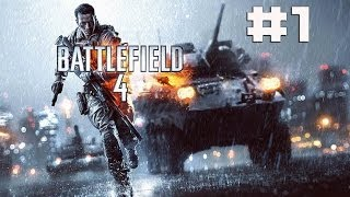 BattleField 4 - Campaign Walkthrough/Gameplay 1st Hour 30 Min - BF4 #1