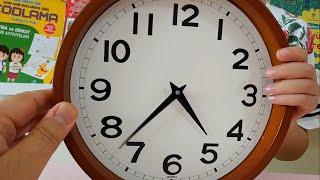 Saatleri Öğreniyorum , Tam ve Yarım Saatler - 1. Sınıf