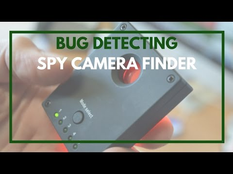 Spy Camera Finder - Tutorial Guide