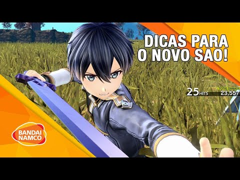 DICAS PARA SWORD ART ONLINE Alicization Lycoris