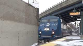 Metro North Railfanning at Yankees - E.153rd Street