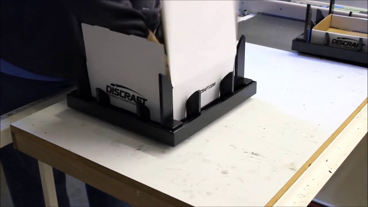 Easy Fold Corrugated Mailer Box Folding Fixture - Jig - Machine from  Fastpack Packaging