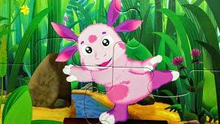 Лунтик и его Друзья - Собираем пазлы для малышей Лунтик | Puzzle time