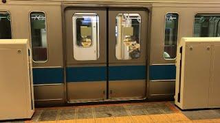 【ガラス付きのドア?】東北沢駅ホームドア設置【小田急小田原線】