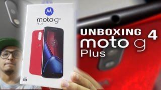 Unboxing e primeiras impressões do Motorola Moto g4 Plus