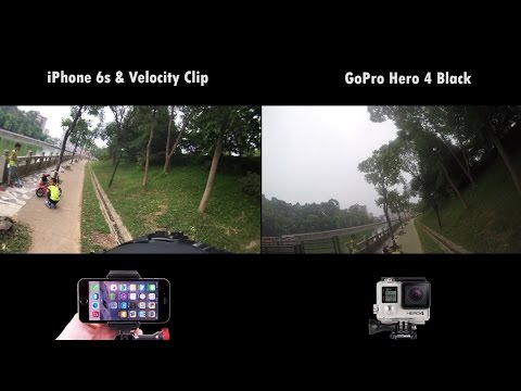 iPhone 6s Better Color Than GoPro Hero 4 Black?  4k Comparison using Velocity Clip