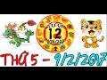 TỬ VI 2017 - Tử Vi 2017 | Tử Vi 12 Con Giáp 2017: Thứ 5 - 9/2/2017 | Xem Tử Vi Hàng Ngày