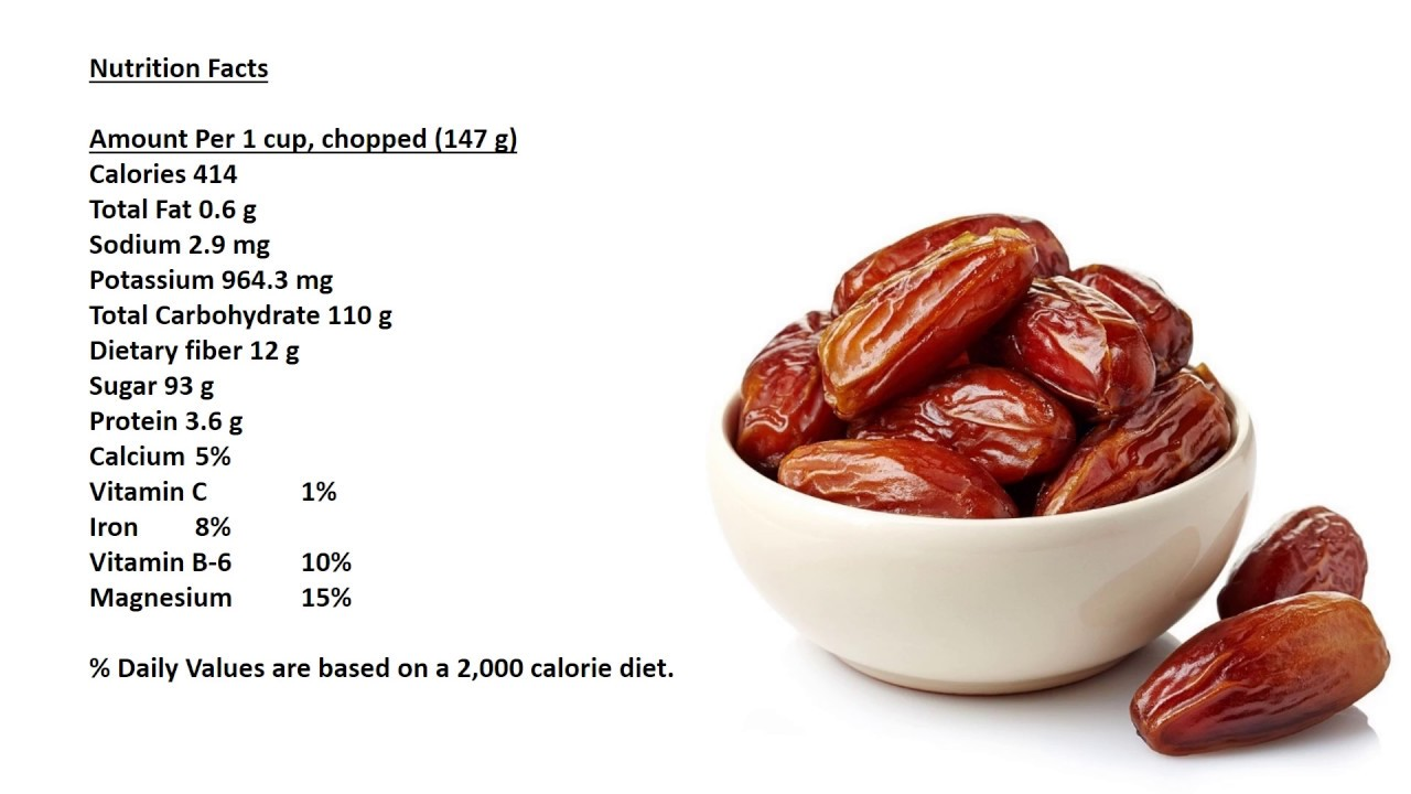 How many calories does one kilogram of date fruits cont
