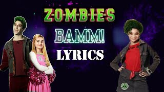 Bamm With Lyrics Milo Manheim, Meg Donnelly, Kylee Russell.mp3
