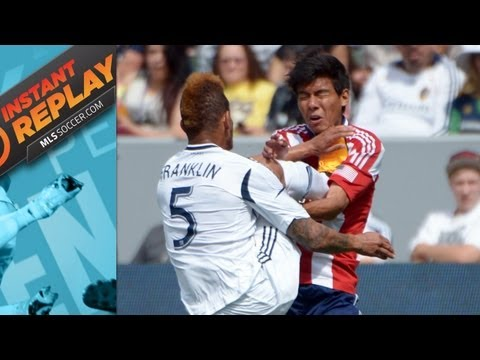 Controversial Rivalry Red Card, Goal Line Technology - Instant Replay
