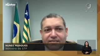 "Nunes Marques desabafa: ""Mídia me alcunhou de negacionista"""