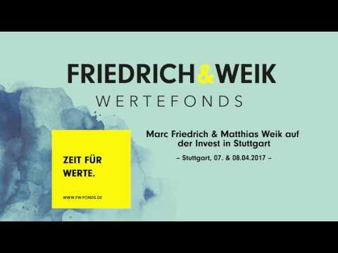 Marc Friedrich & Matthias Weik auf der Invest in Stuttgart