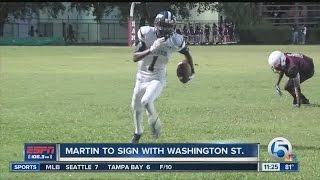Martin to sign with Washington State