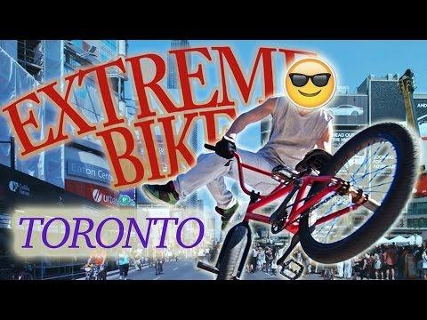 GoPro Hero 5 Bike Ride in Toronto (POV)