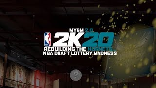 NBA 2K20 HORNETS MYGM 2.0 - NBA DRAFT LOTTERY MADNESS   WE GOT THE #1 OVERALL DRAFT PICK!? (EP.6) 🤑