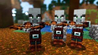 Minecraft Survival with heaveN - НАШЕСТВИЕ В СЕЛОТО - Епизод #4